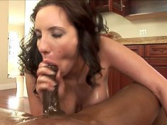 Kelly's interracial anal fun