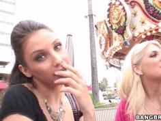 Erotic blonde babe Celeste Star  and her partner friends get naughty