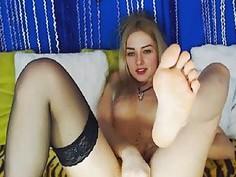 College Girl Solo Masturbation