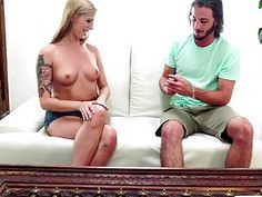 Ryan Riesling plays with a buttplug