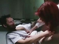 WTF Zombie Girl Gags on Cock for Cum!