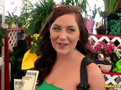 Bruno meets appetite Hayden Bell at the local flea market and invites her at his home