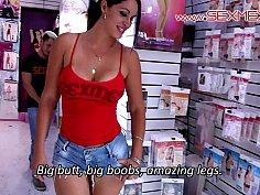 Sex shop seduction