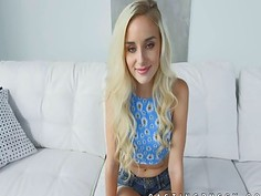 Hottest teen cutie Naomi Woods strip